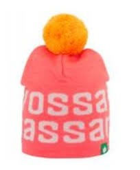 Tass lue Rosa/Orange - Vossatassar