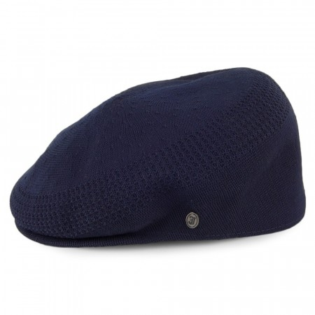 Jaxon & James Sommer Flat Cap Navy Blue